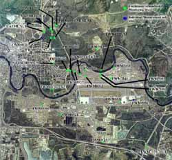 Fort Wainwright Hydrological Data Network Site Data